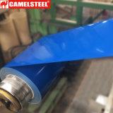 색깔에 의하여 입히는 직류 전기를 통한 물결 모양 강철 PPGI 루핑 장