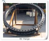 Grande flangia forgiata del collo della saldatura del acciaio al carbonio di formato ASME B16.47