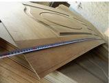 Peau de porte de HDF avec le papier de mélamine de placage