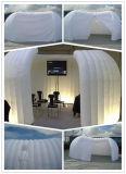 一時イベントの解決のために膨脹可能な携帯用会議室
