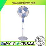 16 Zoll-Plastikmarken-elektrischer Standplatz-Ventilator