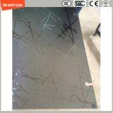 Печать Silkscreen высокого качества 3-19mm/кисловочный Etch/заморозили/стекло картины безопасности картины закаленное/Toughened для стены/перегородки мебели с SGCC/Ce&CCC&ISO