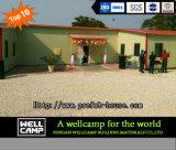 Edificio prefabricado móvil para la sala de clase en proyecto de Zambia