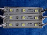 5050 3LEDs annonçant la lumière de module de l'épreuve SMD DEL de pluie d'utilisation