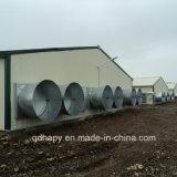 Het prefab Huis van de Landbouw Chiken met Apparatuur Procution