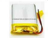 Batería 3.7V 1250mAh del Li-Polímero de la batería 503758 de Lipo