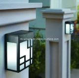 Illuminazione esterna solare personalizzata di via esterna nera della piattaforma di controllo LED di voce di idee
