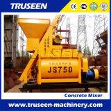 Mezclador de cemento del certificado Js750 de la ISO /Ce de la buena calidad del surtidor de la fábrica con el tambor plástico
