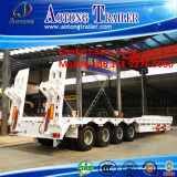 中国2-4 Axles 40-80ton Low Bed Lowboy Tractor Semi Trailers