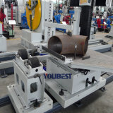 Linea di produzione di prefabbricazione della saldatura del tubo del grande diametro acciaio inossidabile/del carbonio