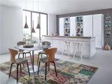 2015 Keukenkasten van de Keuken van de Luxe van de Villa Welbom de Witte Naadloze Gezamenlijke
