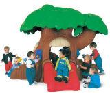 De plastic Apparatuur van het Spel van de Jonge geitjes van het Huis van het Stuk speelgoed Mini Mooie (M11-09504)