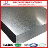 Bobina galvanizzata della lamiera di acciaio del TUFFO caldo di ASTM A653 Z120