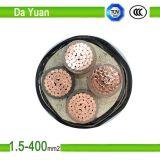 câble d'alimentation isolé par PVC des faisceaux 0.6kv/1kv 3