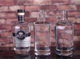 De naar maat gemaakte Fles van het Glas van de Alcoholische drank 750ml