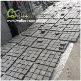 Естественный зацепленный черный камень базальта/гранита вымощая для сада/подъездной дороги ландшафта