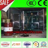 Macchina di pulizia di filtrazione dell'olio di vuoto di alta efficienza, pianta di riciclaggio dell'olio
