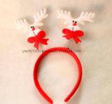 Cervo-Antlers rossi e bianchi alla moda della fascia della peluche