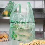 Оптовая тенниска упаковывая Recyclable дешевую хозяйственную сумку