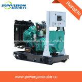 150kVA tipo fijo conjunto de generador con el depósito de gasolina enorme
