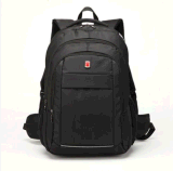 Zaino nero del computer portatile con la casella di Ereader del ridurre in pani