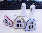 직업적인 충전기 공급자는 USB 차 충전기 3 포트를 제공한다
