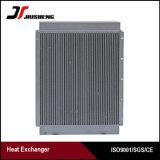 Refrigerador de petróleo hidráulico del excavador de la placa de la barra de la eficacia alta