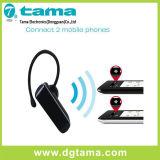 Fone de ouvido sem fio dos auriculares de Bluetooth com carregador do carro e cabo do carregador
