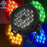 실내 옥외 18X10W RGBWA 5in1 LED 동위는 점화할 수 있다