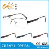 Telaio dell'ottica di Eyewear di alta qualità di vetro di titanio Semi-Senza orlo del monocolo (8418)