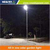 屋外に安いライト庭のつくことは1つの太陽街灯のすべてを統合した