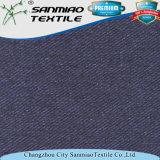 Des Changzhou-Sanmiao Denim-Gewebe Marken-Indigo-Garn gefärbtes Twill-330GSM