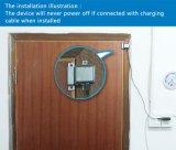 Sistema de alarma elegante del G/M GPS de la seguridad casera, alarma magnética al por mayor del sensor de la puerta del G/M, alarma de puerta universal del GPS de la radio