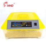 Mini incubatrice dell'uovo del pollo delle uova automatiche piene della holding 48 (EW-48)