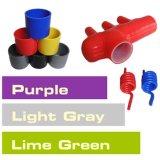Color del manguito del silicón/color del aislante de tubo del silicón/verde de cal gris púrpura