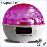 La etapa mágica colorida de la bola cristalina enciende el altavoz de Bluetooth del fulgor (XH-PS-682)