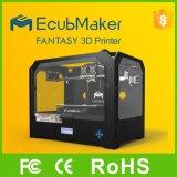 Moldura acrílica de impressora 3D com LCD Impressora de alta precisão