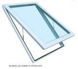 Finestra di vetro del lucernario di profilo del tetto di alluminio della parte superiore