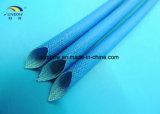 Gainer enduit tressé de fibre de verre en caoutchouc de silicones anti-calorique