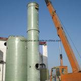 Impianto di lavaggio della torretta della vetroresina che blocca gas più nocivo