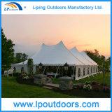 tente extérieure Wedding blanche extérieure de marché aux puces de tente de 12X18m Pôle