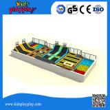 Sosta dell'interno del trampolino di fabbricazione di Fantasic ginnastica professionale di alta qualità di grande