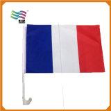 Изготовленный на заказ национальная кампания Франции 2017 рекламируя флаг автомобиля (Hycf-Af004)