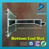 Rollen-Blendenverschluss-Tür-Fenster-Aluminiumstrangpresßling-Profil mit anodisiert