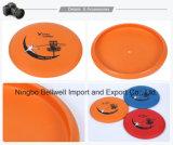 Disco di plastica di volo del Frisbee di marchio su ordinazione in bianco del Frisbee