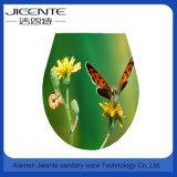 Asiento de tocador europeo de la impresión de la mariposa 3D del cuarto de baño