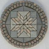 Telha natural do mosaico do jardim da ardósia para o revestimento