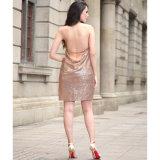 2017 neuf, même la robe sexy de Sequins, robe chaude de vente en gros (A172)