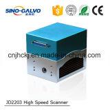 Scanner popolare di Galvo di vendita Jd2203 di cino prezzi di Galvo buoni per la marcatura del laser