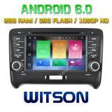 Automobile DVD del Android 6.0 di memoria di Witson otto per Audi Tt 2006-2014